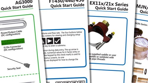 quick start guides